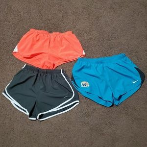 3 Nike Dri Fit  Athletic Shorts